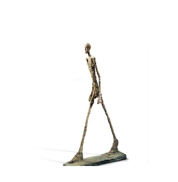 Hombre que camina I, 1960 Bronce. Vaciado 1963, fundición Susse Fondation Marguerite y Aimé Maeght, Saint-Paul-de-Vence