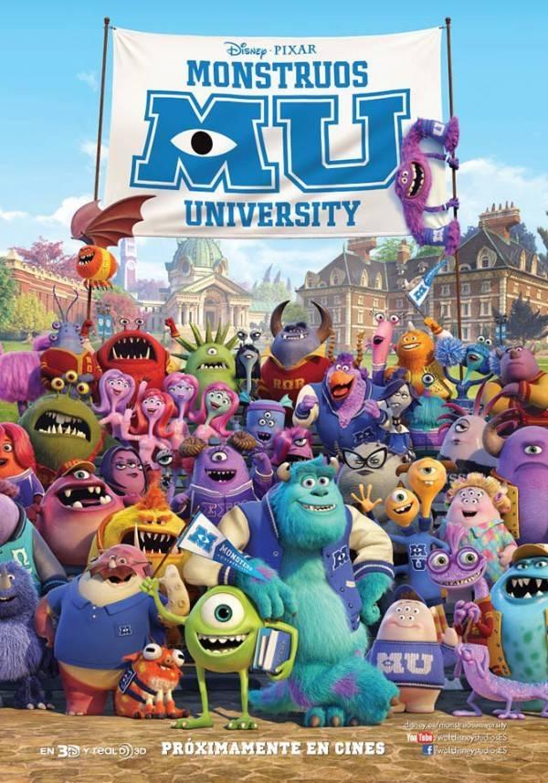 Monstruos University. Estreno en cines el 21 de junio.
