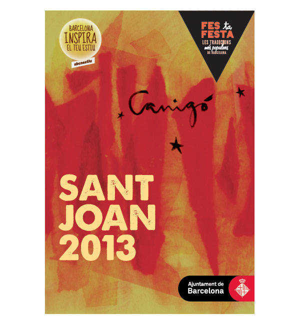 Cartel Sant Joan Barcelona 2013