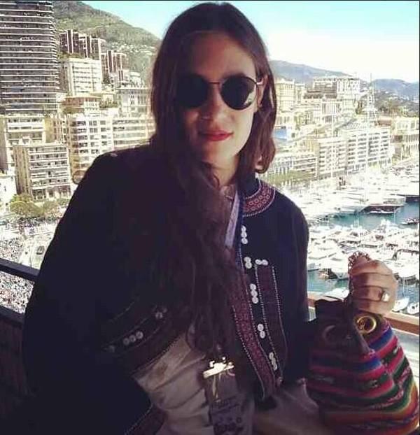 Tatiana Santo Domingo comparte en Twitter junto a su socia su estilo más Gypsetter
