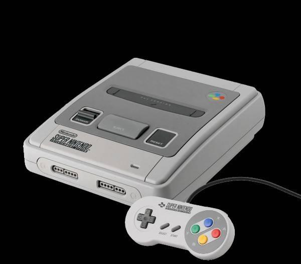 La mítica Super Nintendo