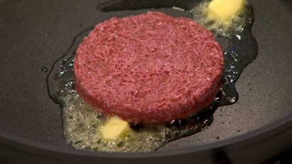 La hamburguesa de laboratrio