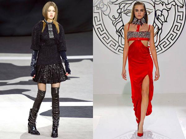 Chanel / Versace