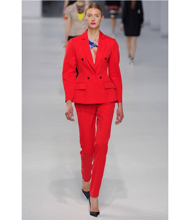 Total red para la póxima temporada de Dior