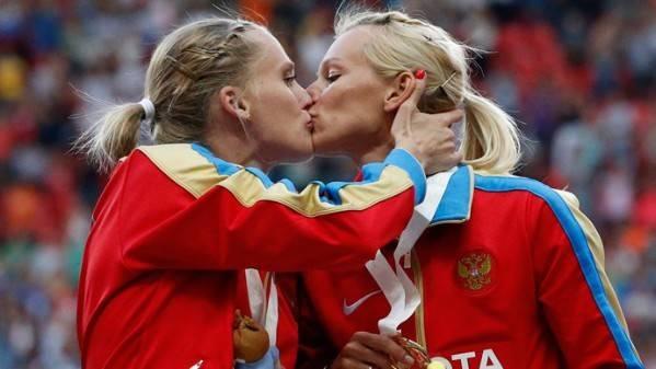 Kseniya Ryzhova y Yulia Gushchina