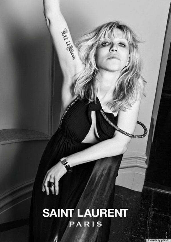 Courtney Love para la campaña