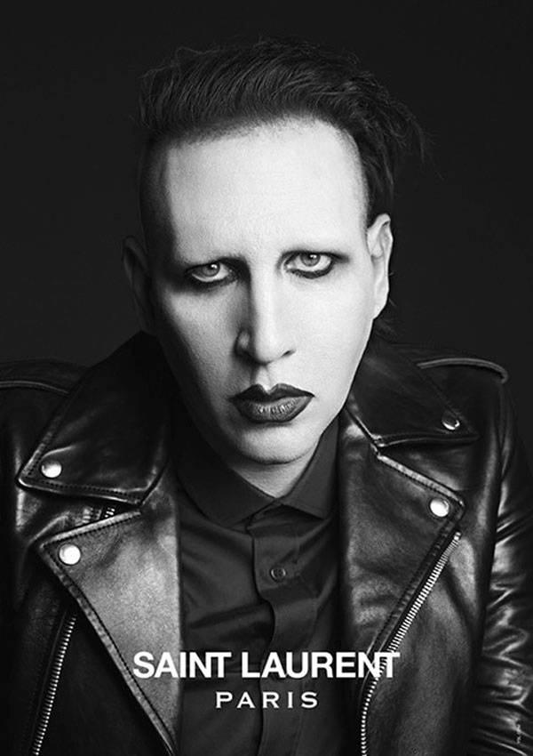 Marilyn Manson para la campaña