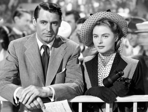 Ingrid Bergman y Cary Grant en