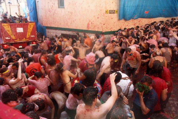 Fiestas de La Tomatina