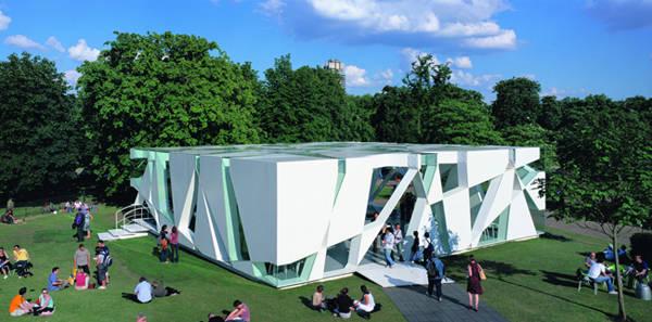 Serpentine Gallery en Kensington Gardens