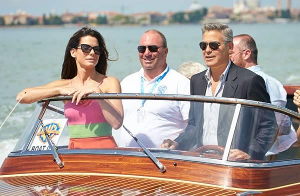 George Clooney y Sandra Bullock