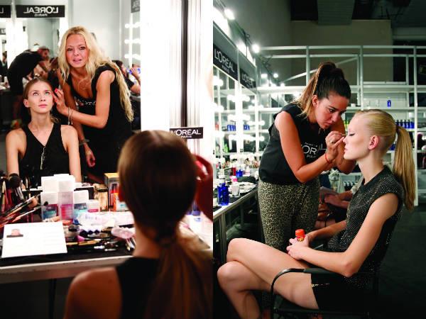 Maquillaje natural y peinado sencillo