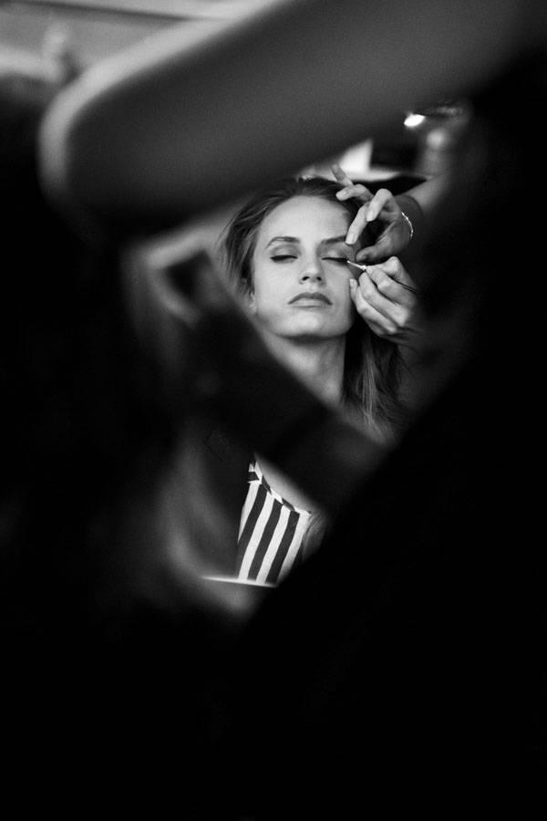 Backstage maquillaje