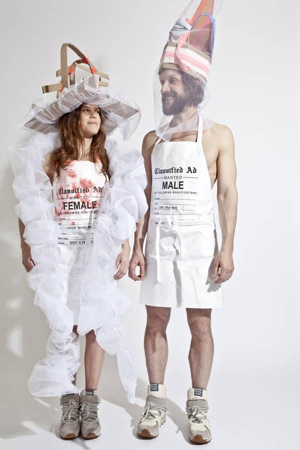 Los diseñadores Jutta Kraus y Bernhard Willhelm
