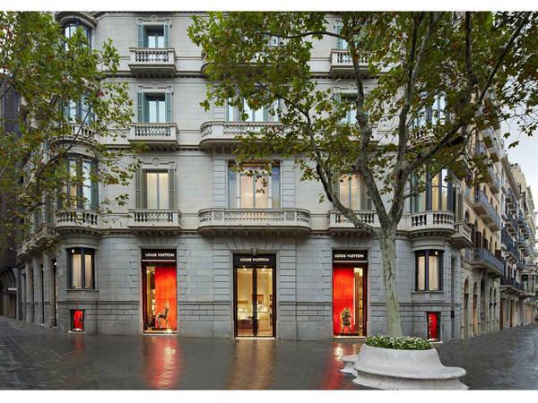 Tienda de Louis Vuitton en Barcelona
