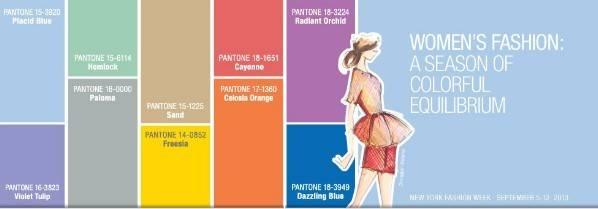 La paleta de Pantone
