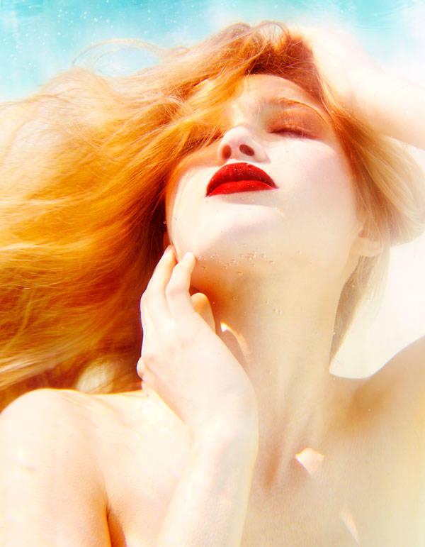 Belleza en la rentrée. Editorial de Michael Adams para Vanidad