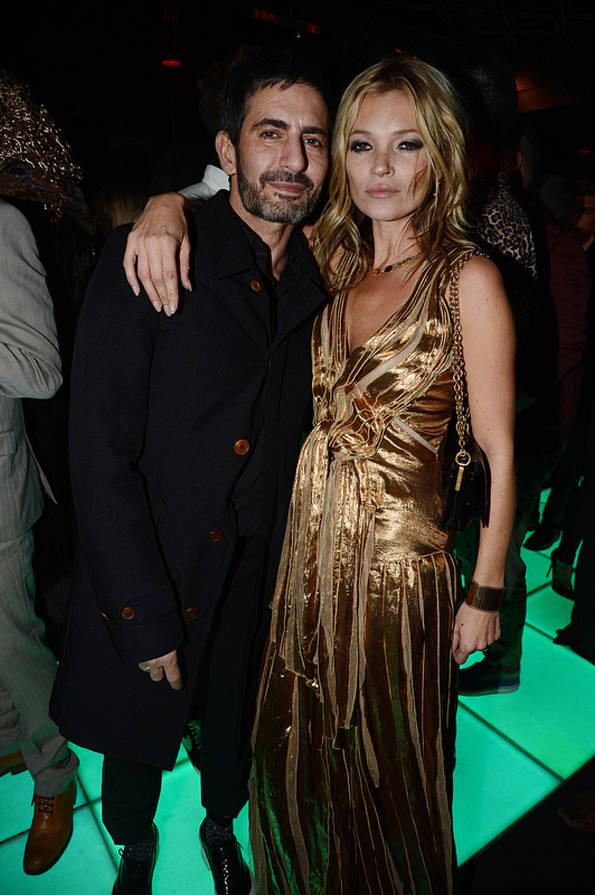 Marc Jacobs y Kate Moss