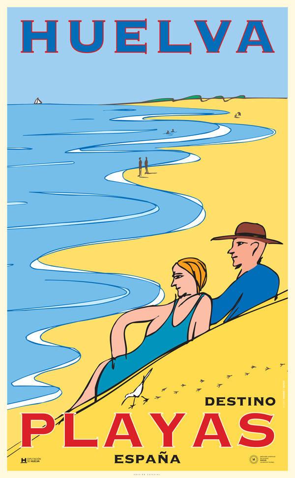 Playas de Huelva por Óscar Mariné