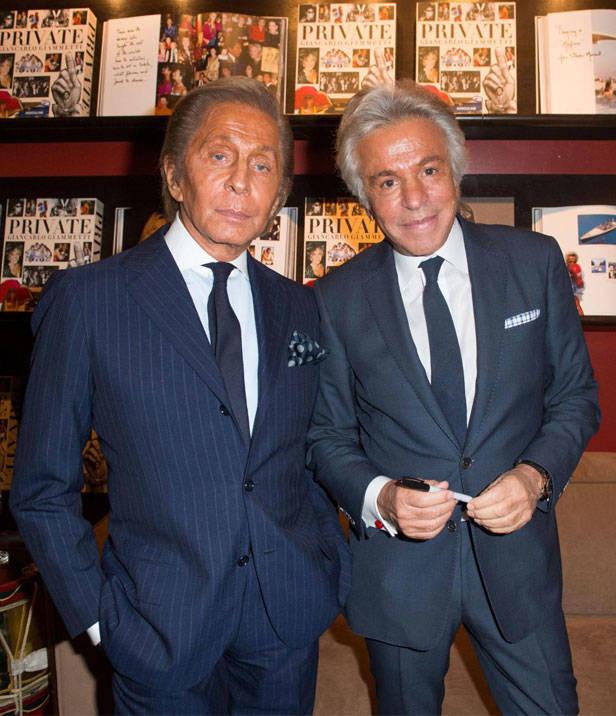Valentino y Giancarlo Giammetti