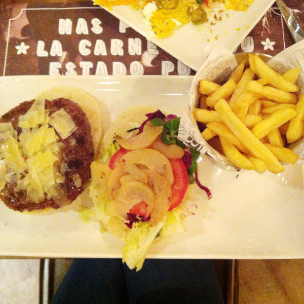 La Hamburguesa Gourmet del Steak Burger