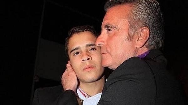 José Fernando y su padre