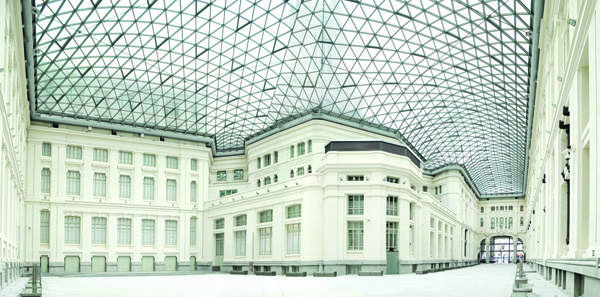 Galeria de cristal del Palacio de Cibeles de Madrid