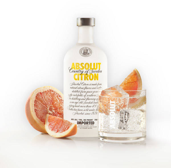 ABSOLUT CITRON & TONIC
