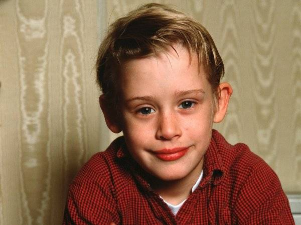 Macaulay Culkin de niño