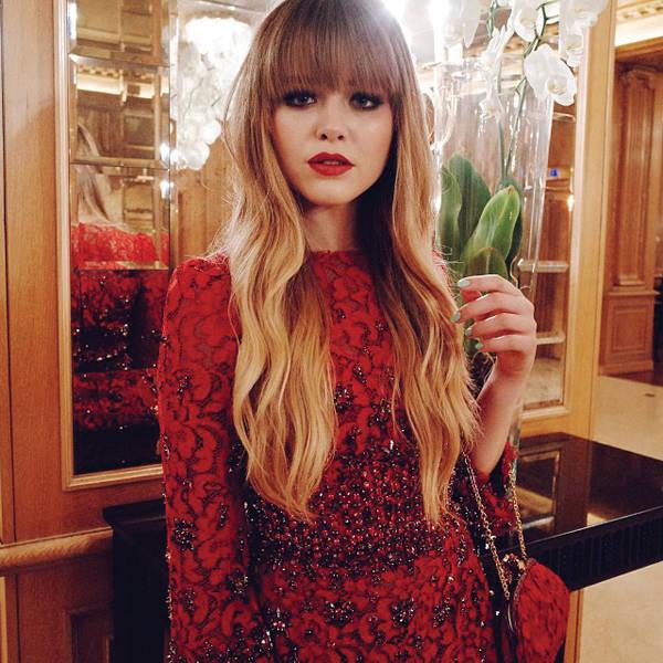 -Asisití al evento organizado por Dolce & Gabbana para presentar su nueva campaña de The One con este vestido maravilloso.
