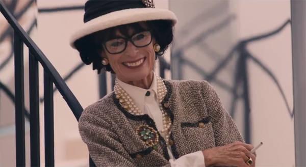Geraldine Chaplin como Coco Chanel en