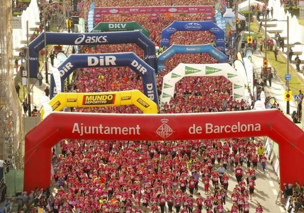 Fotografía de carreradelamujer.com. Barcelona 2013.