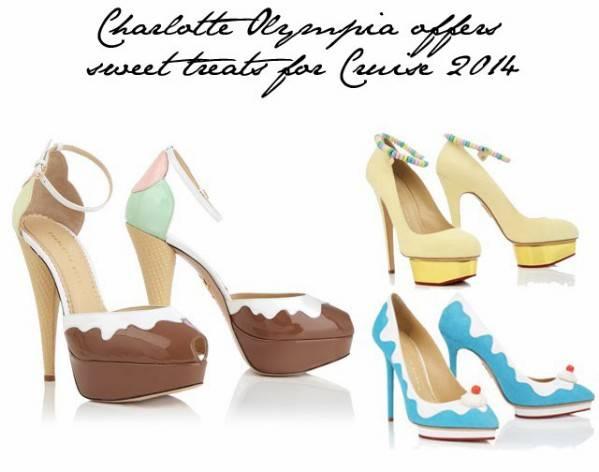 Colección cruzero 2014 de Charlotte Olympia. Zapatos
