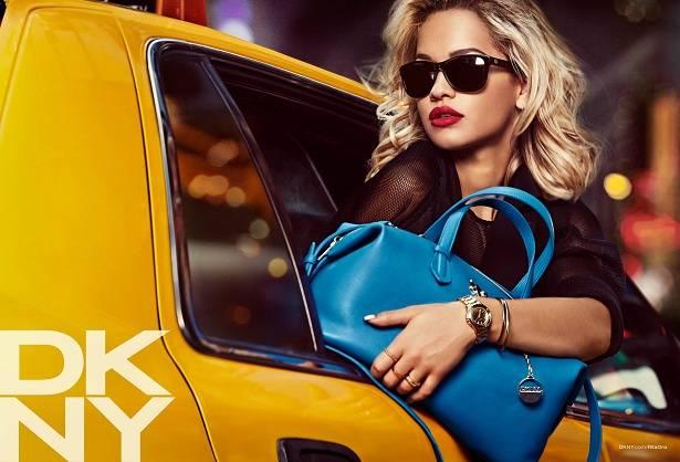 Rita Ora para DKNY