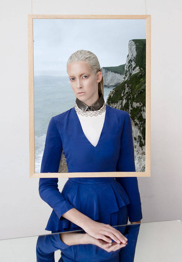 Camisa plateada & OTHER STORIES Vestido blanco con pedrería PINKO Vestido azul & OTHER STORIES