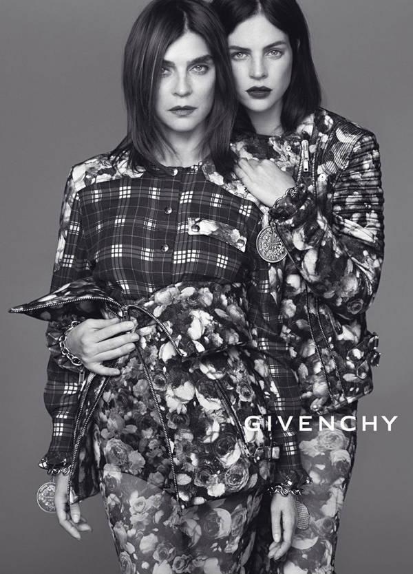 Carine Roitfeld y Julia Restoin Roitfeld para Givenchy FW13/14
