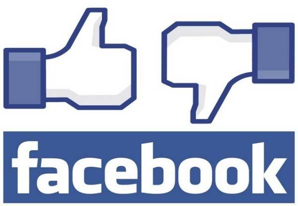 Los famosos pulgares de Facebook
