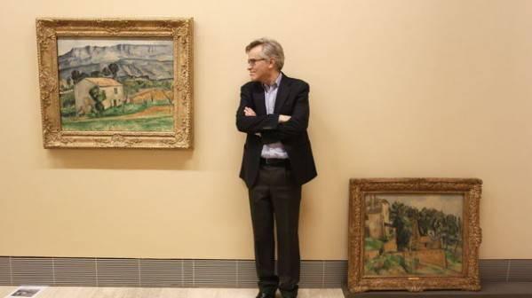 El artista Cézanne