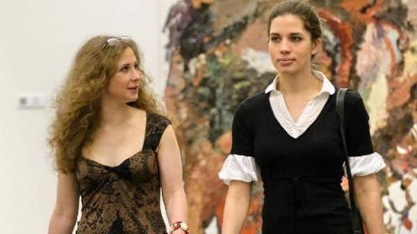 María Alyokhina y Nadia Tolokonnikova