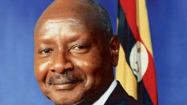 Yuweri Museveni, presidente de Uganda
