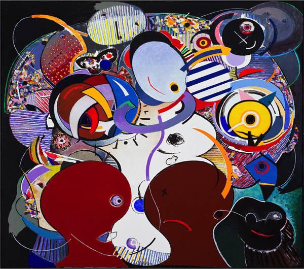 Obra de Fernando Coelho. Galería ART LOUNGE. Art Madrid.