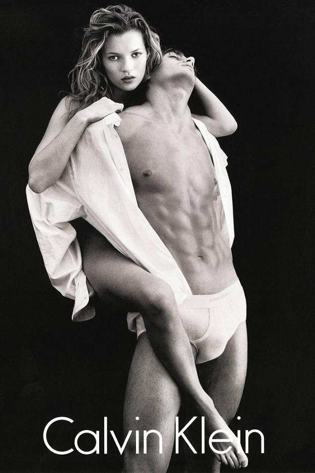 Kate Moss en la icónica campaña de 1992