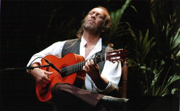 Paco de Lucía en concierto
