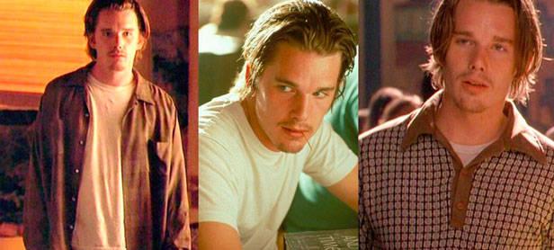 Con su dejadez, el pelo sucio y sus camisas arrugadas, este papel le dio a Ethan Hawke un éxito enorme con las chicas.