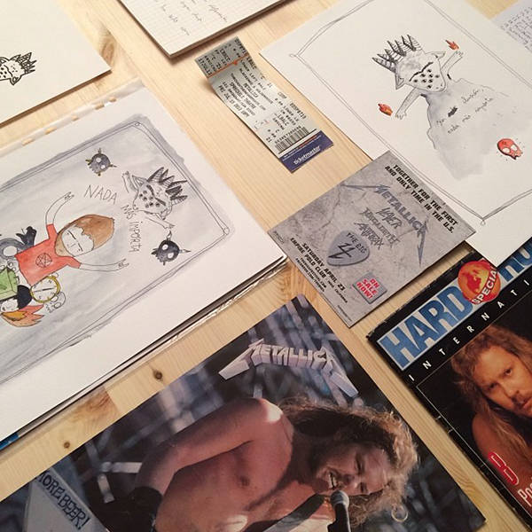 Material para la exposicion en Panta Rhei de Aitor Saraiba