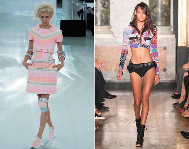 Riñoneras de Chanel y Emilio Pucci.