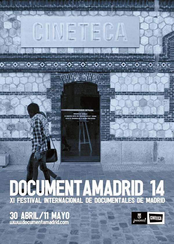 Cartel de la XI Edición de DOCUMENTAMADRID
