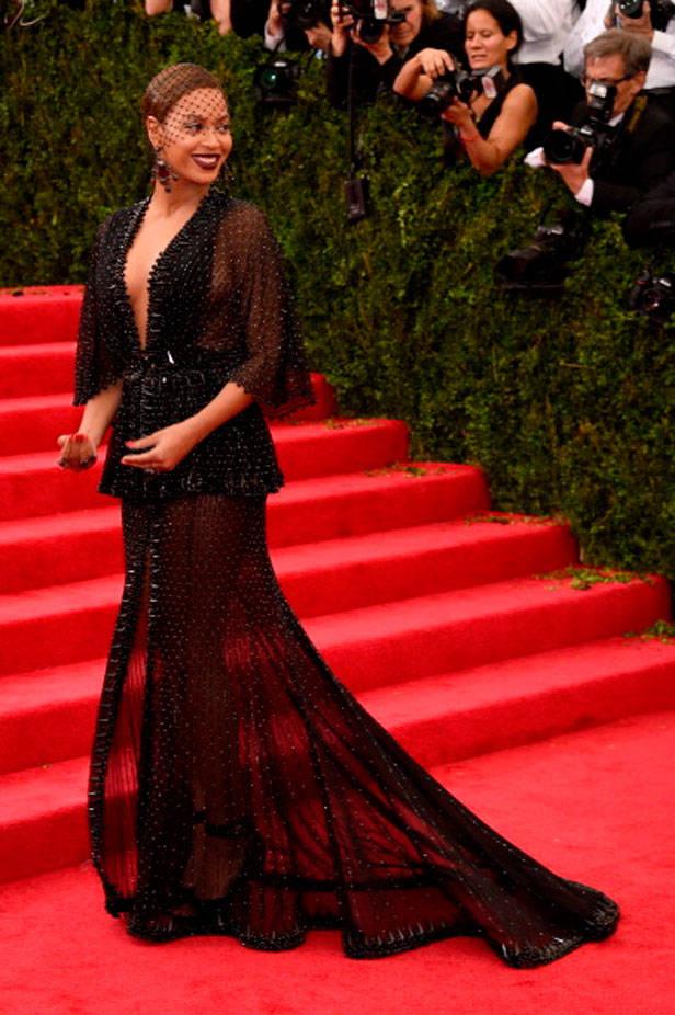 Beyoncé en la Gala del MET