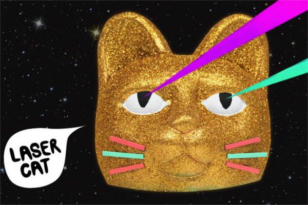 Laser Cat, de Hungry Castle