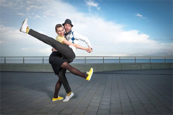 Jordi Mundet y Jana Grulichová, fundadores de Swing Maniacs